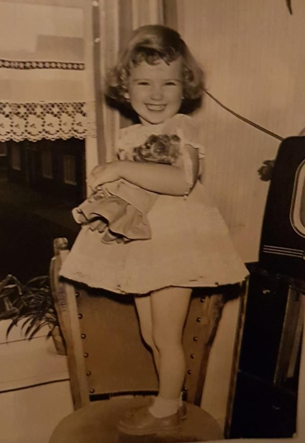 Wij Diana kinderfoto 1961
