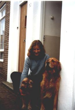 Marian met haar hond