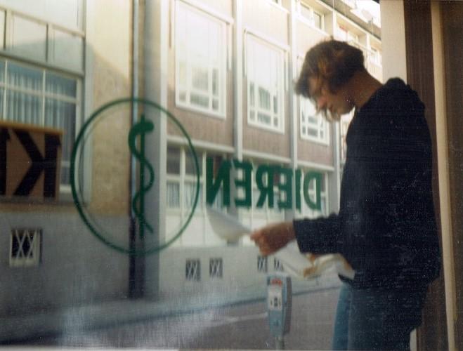 Geschiedenis verbouwing wachtkamer plakplastic