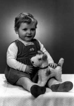 Yvon met haar eerste hondje